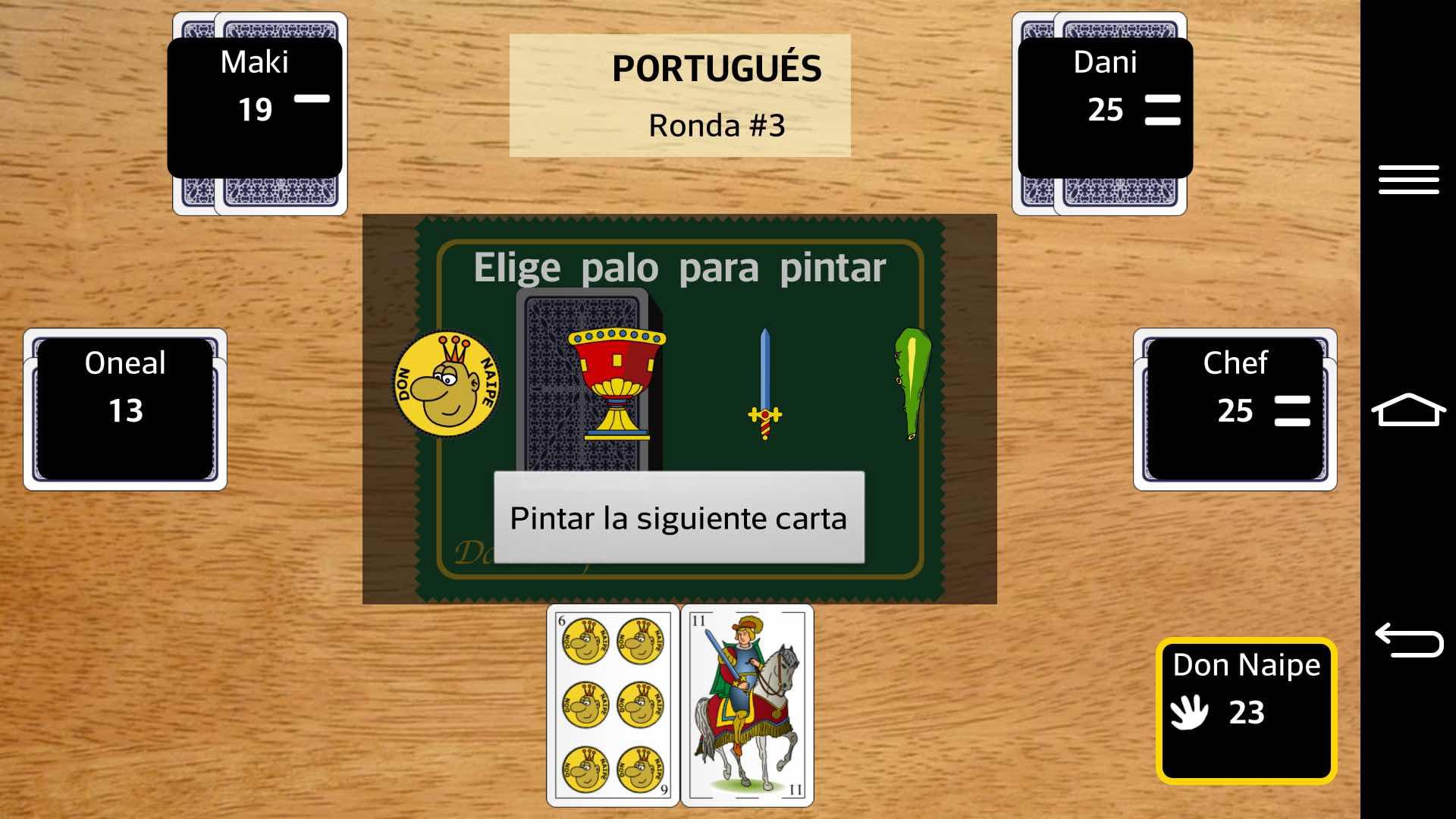 El Portugues Un Gran Juego De Cartas Para Android Producciones